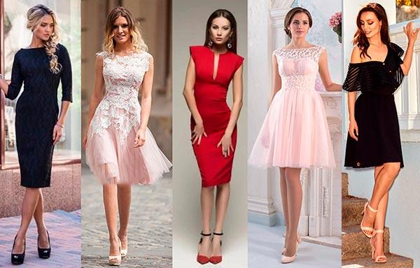 Модные коктейльные платья этого лета