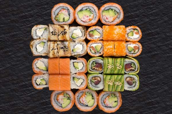 Суши - вкусное, полезное и разнообразное блюдо