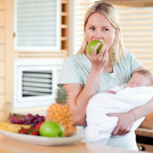 Каким должно быть правильное питание кормящей мамы?
