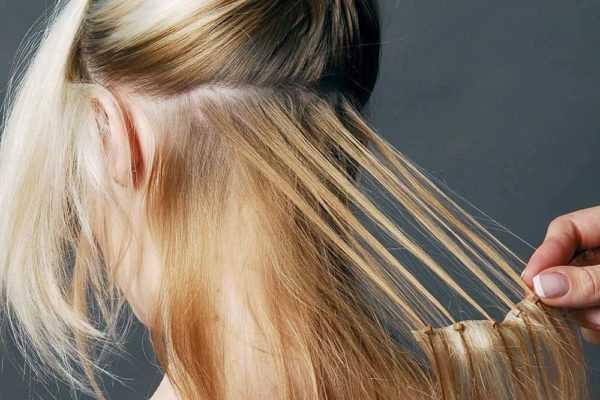 Как снять нарощенные волосы