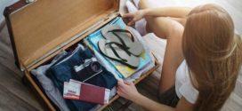 Что взять с собой в поездку? Собираем вещи для отпуска