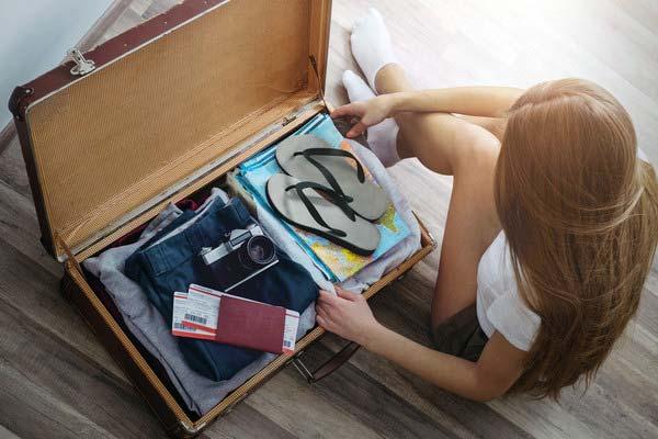 Собираем вещи для отпуска