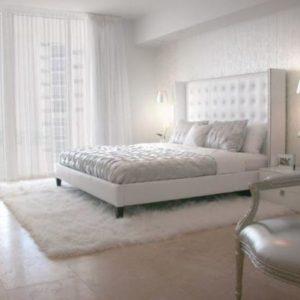 Белая спальня - на что обращать внимание при ее обустройстве