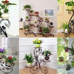 Как красиво и удобно разместить цветы в интерьере?