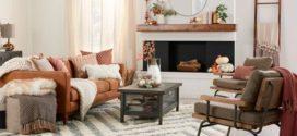 Модный и уютный осенний интерьер в квартире (фото)