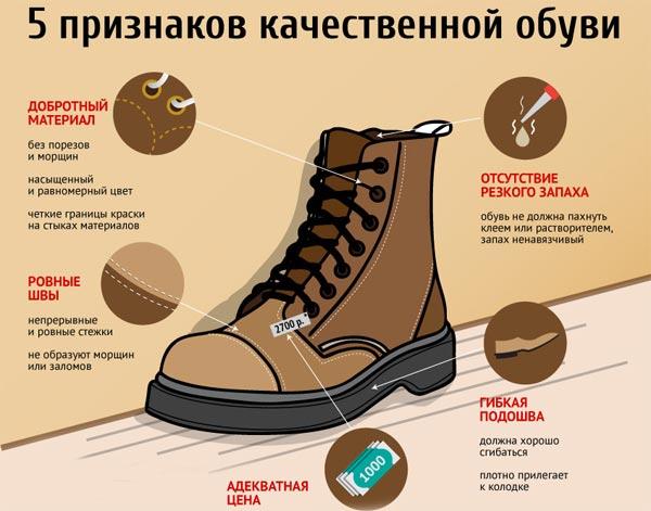 Как выбрать правильный размер обуви?