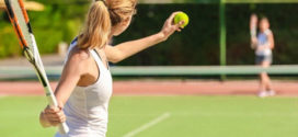 Большой теннис: польза и вред