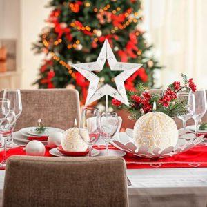 Самые красивые идеи для украшения вашего рождественского стола