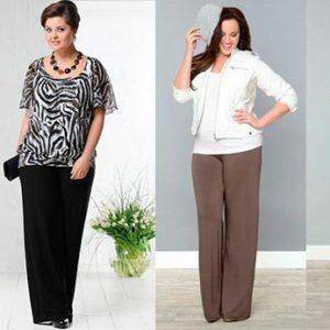 Женские брюки для полных: советы по выбору