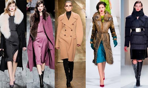 Женское пальто: модные тенденции 2014