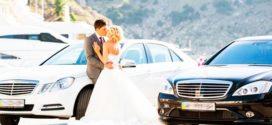 Правила удачной аренды автомобиля на свадьбу