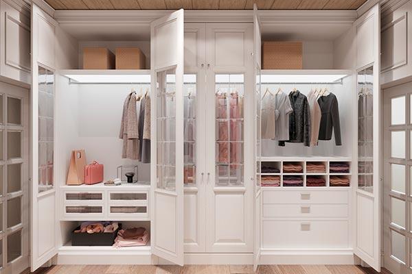 Что собой представляют встроенные шкафы