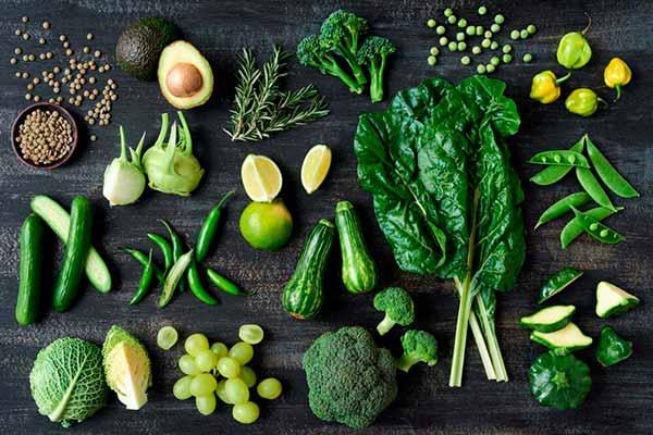 Зеленая диета поможет похудеть