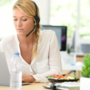 Как совместить диету и работу?