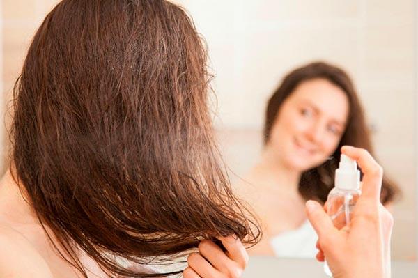 Спреи для волос: особенности, виды и способы применения
