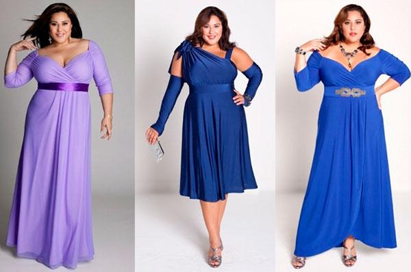 Как выбрать платье большого размера