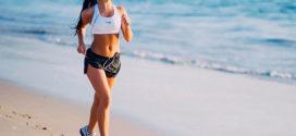 Упражнения на море для похудения