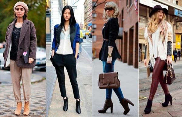 14 советов, как правильно и стильно носить ботильоны
