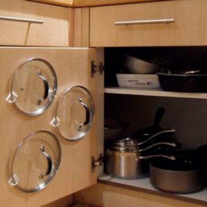 Как правильно хранить кастрюли в небольшой кухне