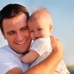 Роль папы в жизни крошки
