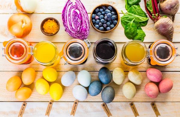 Пасха: все о пищевых красителях