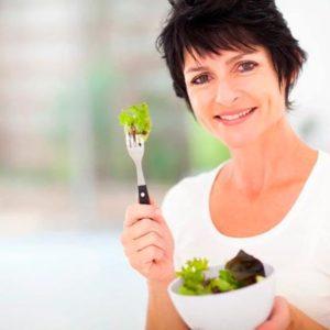 Особенности диетического питания женщины при наступлении менопаузы