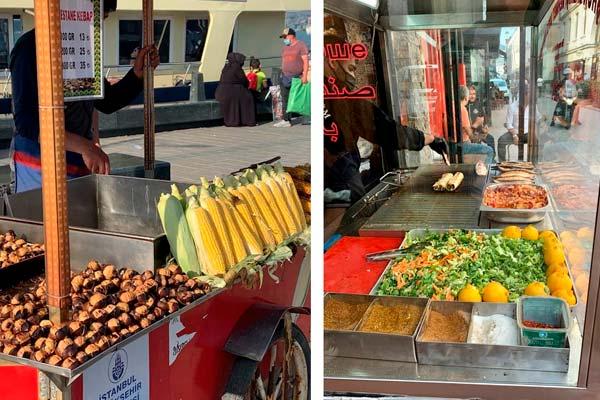 Путешествие в Стамбул: еда