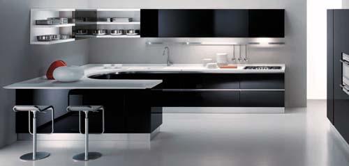 Кухни дизайн хайтек фото