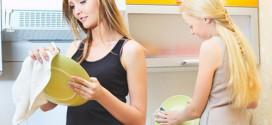 Как легко и быстро отмыть жирную посуду