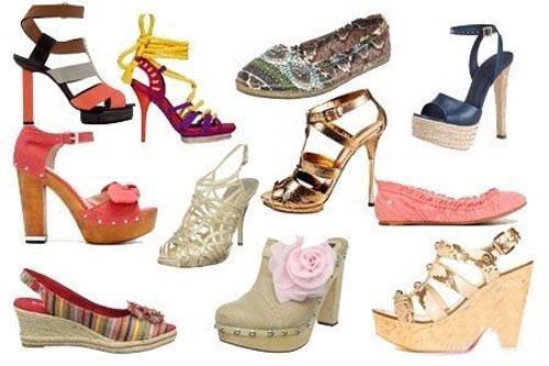 Модная летняя женская обувь 2012