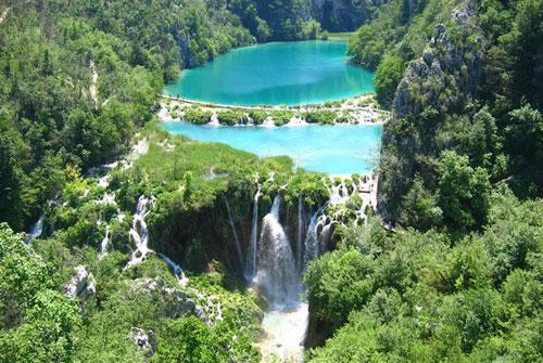 Самые удивительные озера мира. Плитвицкие озера