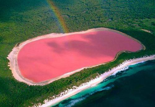 Самые удивительные озера мира. Хиллер, Австралия