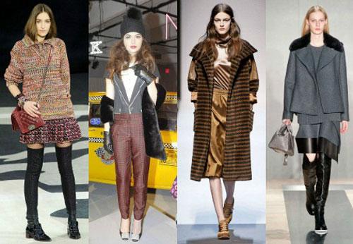 Модные тенденции осени 2013