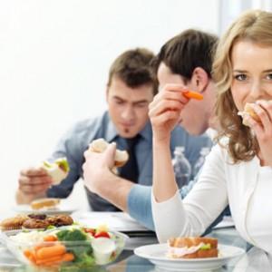 Простые правила питания в офисе