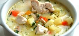 Сырный суп — сытный суп!