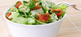 5 рецептов салатов для занятой женщины