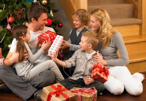 Подарки в новогоднюю ночь 2014