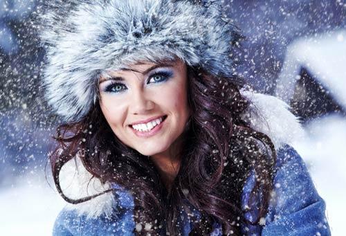 Зимний макияж