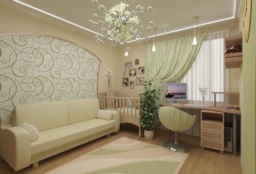 Как совместить детскую и спальню в одной комнате