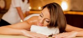 Женский массаж с тремя видами пилинга