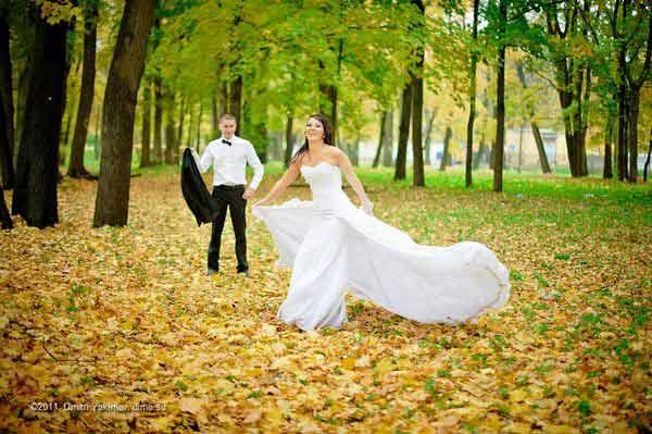 Свадьбы в сентябре 2018 года