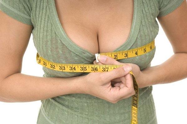 как увеличить грудь без средств