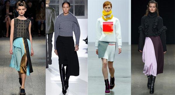 макси юбка в спортивном стиле: