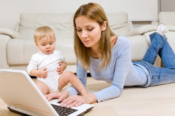 """5 вариантов как зарабатывать сидя в декрете - блог """"Получи совет"""""""