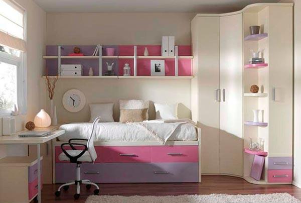 Дизайн шкафов в детскую 35