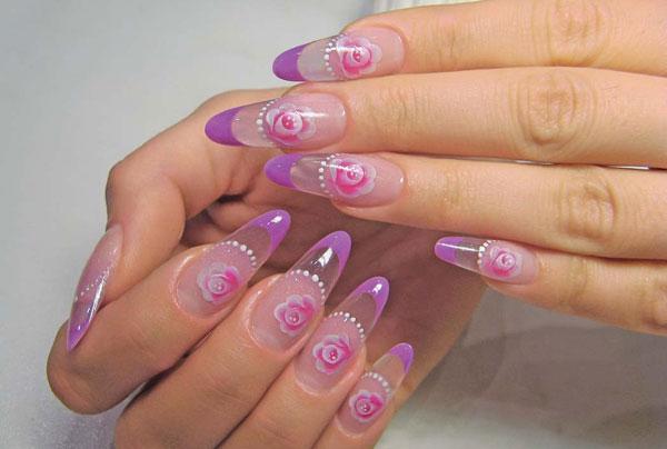 фото нарощенных ногтей гелем фото