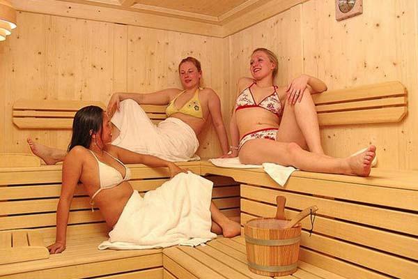 неожиданное в бане