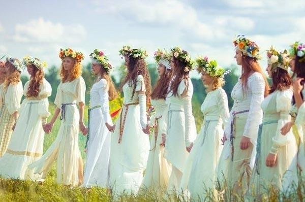 Гимнастика древних славянок в помощь современным женщинам