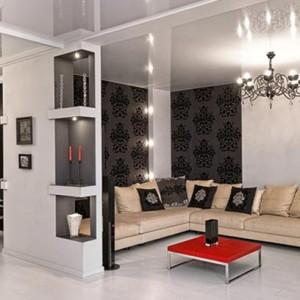 Гламур в дизайне квартиры
