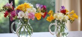 Как подчеркнуть красоту букета при помощи вазы?